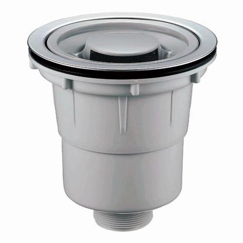 流しト台ラップ キッチン用排水トラップ。封水深50で臭気上がりを防ぎます。取付対応厚み... 流
